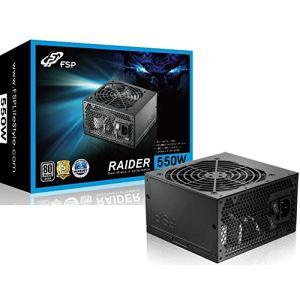 Fortron Raider S550 - Bloc d'alimentation PC 550W certifié 80 Plus Silver