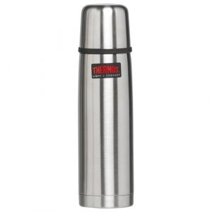 Thermos 187486 - Bouteille isotherme inox 0.35l light & compact