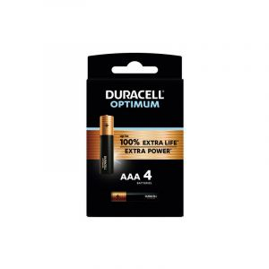 Duracell Pile AAA x4 Optimum
