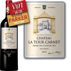 Château La Tour Carnet 2010 - Vin rouge de Bordeaux (AOC Haut Médoc)