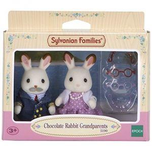 Epoch Sylvanian Families 5190 - Grands parents Lapin chocolat