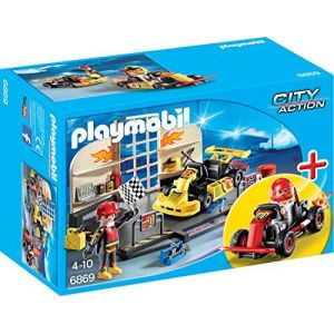 Playmobil 6869 City Action - Garage de Karts