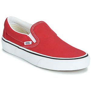 Vans Slip ons CLASSIC SLIP-ON rouge - Taille 36,37,38,39,40,41,42,43,44,45,46,35,40 1/2,42 1/2,47,38 1/2,44 1/2,36 1/2