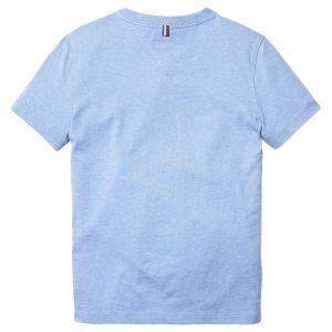 Tommy Hilfiger T-shirts Tommy-hilfiger Basic V Neck - Dark Allure Heather - 10