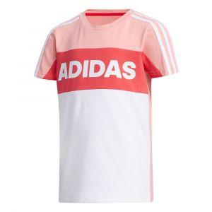 Adidas Survêtements Little Kid Summer Set - Glory Pink / Medium Grey Heather - Taille 116 cm