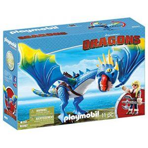 Playmobil 9247 - Dragons : Astrid et Tempête