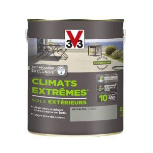 V33 Peinture sol climats extrêmes satin béton poli 2.5 l
