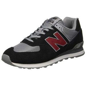 New Balance 574 Noir/gris 45.5 Homme