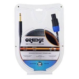 Orange Conception de la Mécanique HP 90 cm SPEAKON-JACK Câble pour guitare câbles de haut-Parleurs