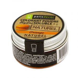 Patisdécor Colorant poudre - orange - 8 g