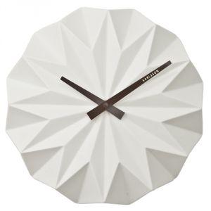 Present time Karlsson Origami - Horloge murale 27 cm