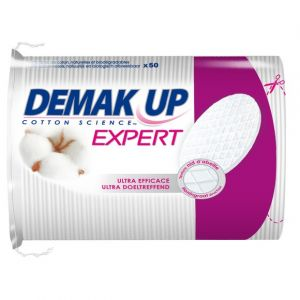 Demak Up Duo+ - Cotons ovales à démaquiller