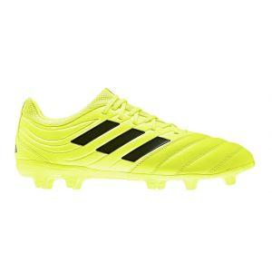 Adidas Copa 19.3 FG, Chaussures de Football Homme, Multicolore Core Black/Solar Yellow F35495, 44 EU