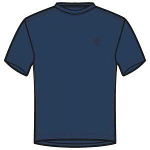 Salomon T-shirts Explore Pique M/c - Poseidon - Taille S