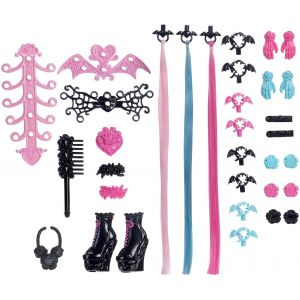 Mattel Monster High Draculaura Créa coiffure