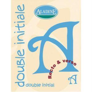Aladine Cachet double initiale A