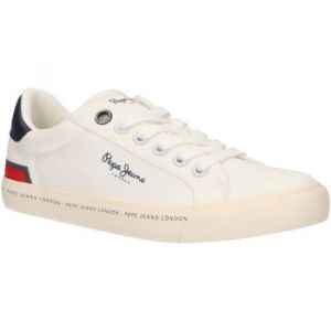 Pepe Jeans Chaussures enfant PBS30402 TENNIS blanc - Taille 36,35