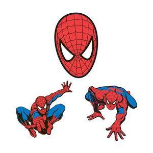 Decofun 3 décors Spiderman en mousse