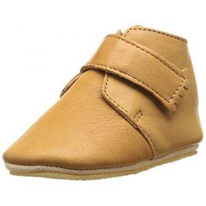 Easy Peasy Kiny Uni, Chaussures Premiers Pas bébé garçon, Beige (66 Oxi), 18/19 EU