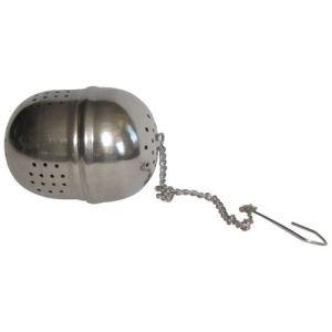 Metaltex 253800 - Boule à thé ovale en inox