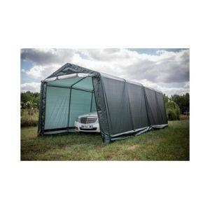 Foresta Abri jardin en toile verte toit 2 pentes 18.6 m2