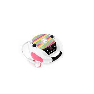 Bigben Lecteur Radio/CD Portable - Licorne + Micro