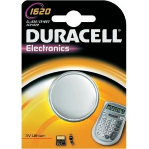 Duracell 030367 - Pile Bouton Lithium CR1620 - 3V - 75 mAh