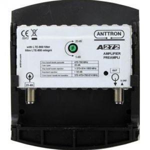 Anttron A272 - Préampli UHF réglable avec Filtre Lte (4G)