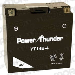 Power Thunder Batterie YT14B-4 GEL