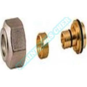 Giacomini R179X077 - Adaptateur pour tube réticulé Calibre 18 Diam. 16 mm