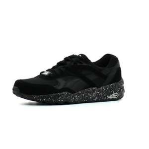 Image de Puma R698 Speckle2, Baskets Basses Mixte Adulte, Noir (Black/Silver), 36 EU