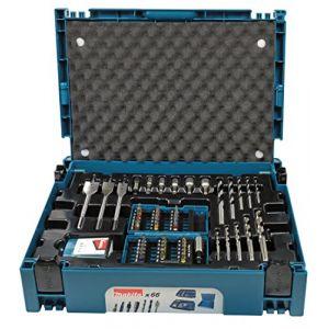 Makita Coffret ensemble d'accessoires 66 pièces en coffret MAK-PAC - B-43044