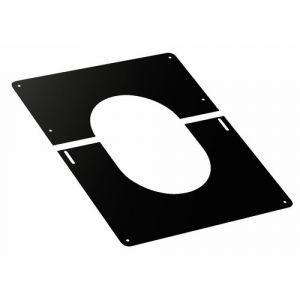 Ten Plaque de finition 0° a 30° inox 200 noire