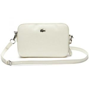 Lacoste Sac Bandouliere SQUARE CROSSOVER BAG blanc - Taille Unique