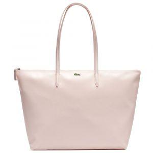 Lacoste Femme L.12.12 Concept Sac Porte Epaule Rose