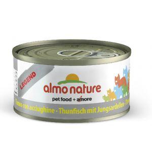 Almo Nature Pâtée en boîte thon avec Blanchaille