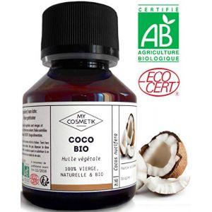 MyCosmetik Huile végétale de coco BIO - 50 ml
