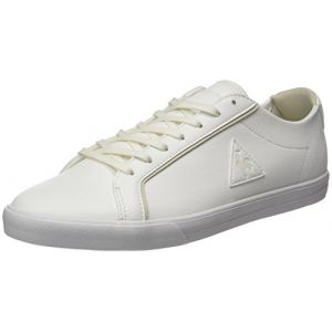 Le Coq Sportif Feret ATL Leather, Baskets Basses Homme, Blanc (Optical White/Turtle), 46 EU