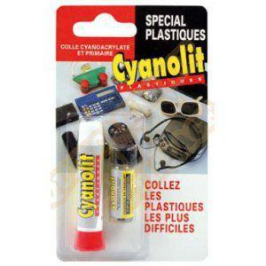 Cyanolit Colle pour plastique 3 g - Colle assemblage