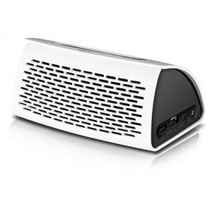 Speed Link Tonos - Haut-Parleur sans fil Bluetooth v3.0 NFC Fonction Mains Libres
