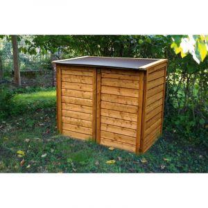 Chalet et Jardin Coffre de jardin en bois Trocadero 1350L