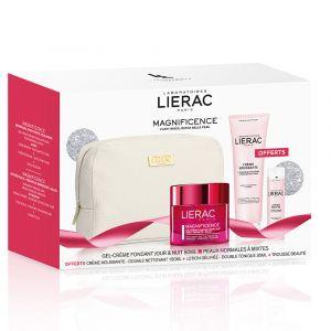 Lierac Magnificence - Gel-crème 50 ml avec crème moussante 150 ml et lotion gélifiée 30 ml