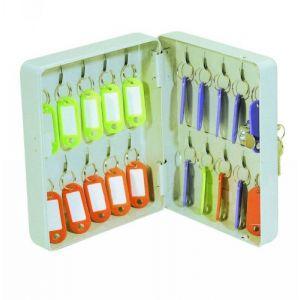 Solveig Armoire à clés - 20 clés - 20 x 16 x 7 cm