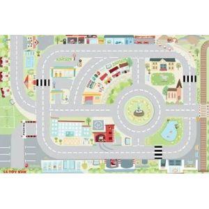 simple le toy van tapis de jeu enfant pour voiture x cm with tapis route ikea. Black Bedroom Furniture Sets. Home Design Ideas