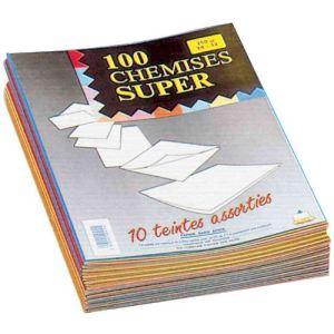Rainex 100 chemises dossiers Super carte 250g (24 x 32 cm)