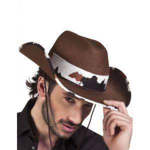 Chapeau cowboy de l'ouest adulte