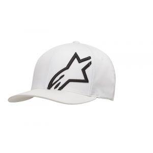 Alpinestars Casquette Corp Shift 2 Flexfit blanc/noir - L/XL