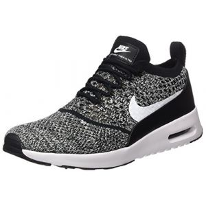 Nike Air Max Thea Ultra Flyknit, Baskets Femme, Noir (Black/White), 36.5 EU