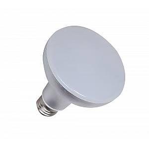 Ampoule LED aluminium R90 E27 - Gris - 12 W équivalence incandescence 75 W, 1000 lm - 3 000 K