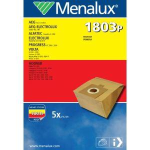 Menalux 1803p - 5 sacs + 1 filtre pour aspirateurs